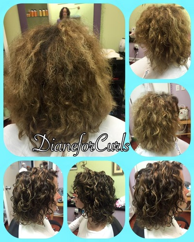 Before After Dianeforcurls